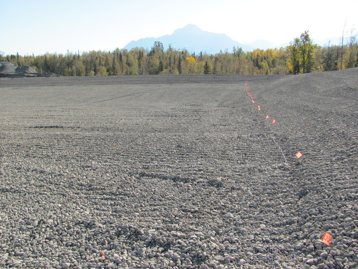 Soil Survey Grid Pattern LLSI Leak Location Services Inc Geomembrane Survey Liner Integrity Survey ASTM LLSI