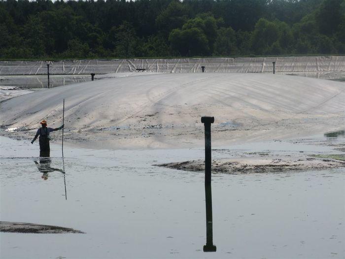 Shallow Water Survey Georgia, USA, California Leak Location Surveys Geomembrane LLSI